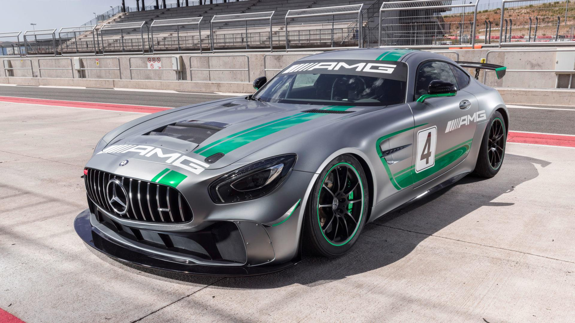 mercedes amg gt4 hits the track in intense promo video. Black Bedroom Furniture Sets. Home Design Ideas