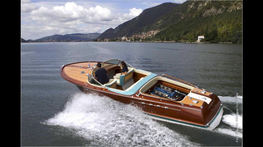 Restauriertes Lambo-Boot sticht in See