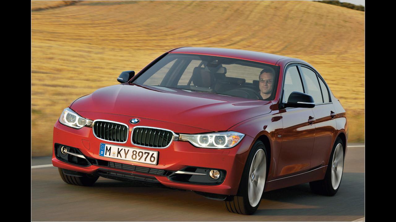 Audi A4 gegen BMW 3er