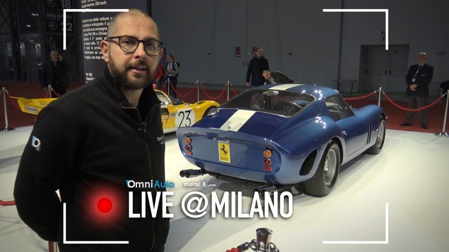 Ferrari 250 GTO, l'auto più costosa al mondo è a Milano AutoClassica