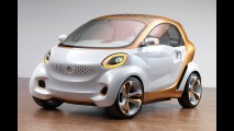 Smart apresentará novos ForTwo e ForFour no Salão de Frankfurt de 2013