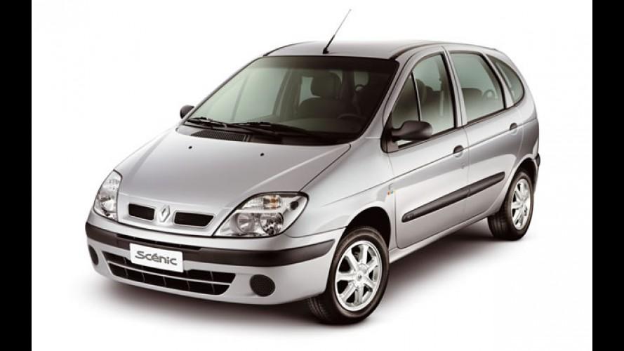 Renault encerra produção do Scénic