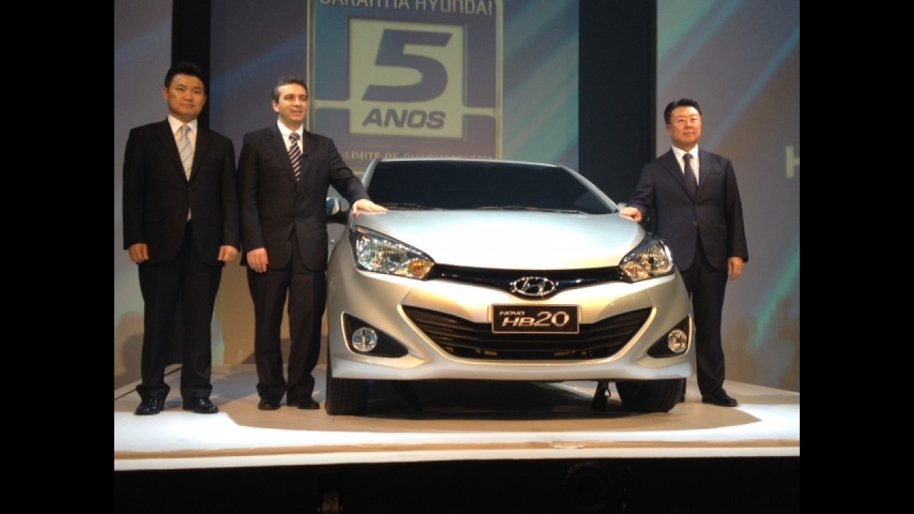 Novo Hyundai HB20 chega por R$ 31.995 - Veja as primeiras fotos do compacto