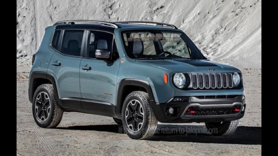 Olha ele aí! Este é o Jeep Renegade, que será fabricado no Brasil