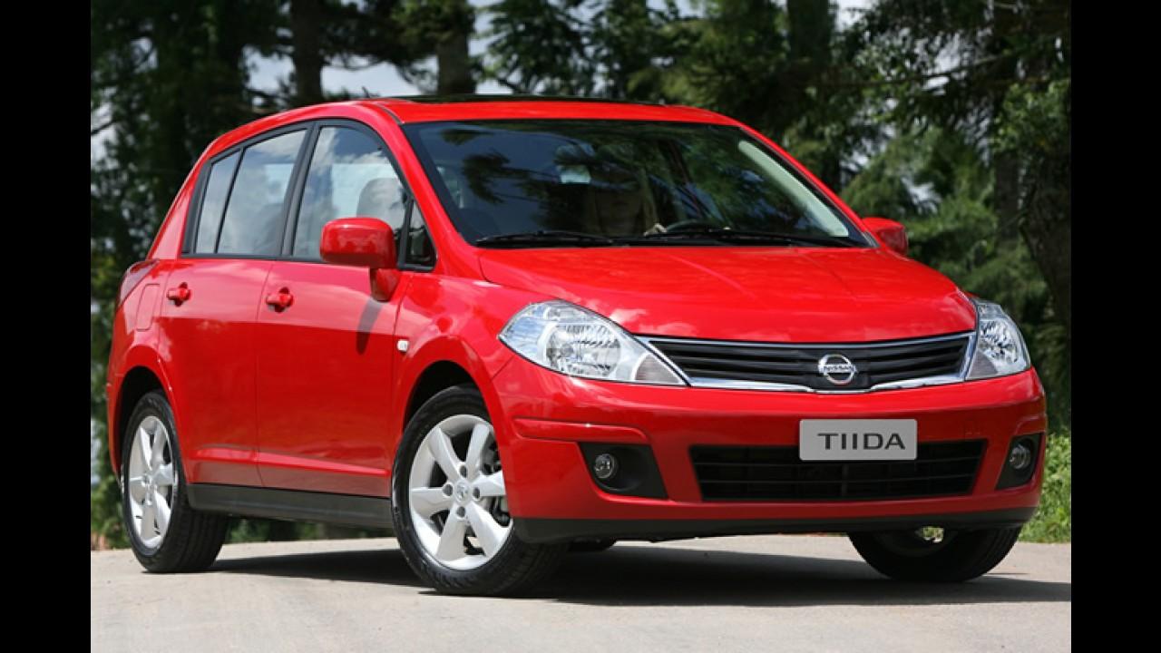 Recorde: Nissan registra crescimento superior a 160% em junho