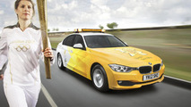 BMW 3-Series for 2012 Olympic and Paralympic Games 26.4.2012