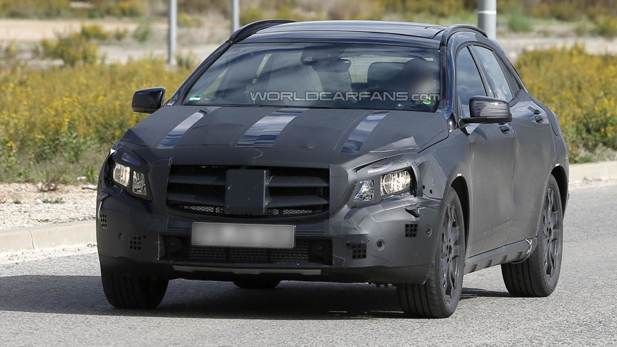 Mercedes GLA concept to debut in Shanghai - report
