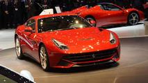 Ferrari F12 Berlinetta in live Geneva 06.3.2012