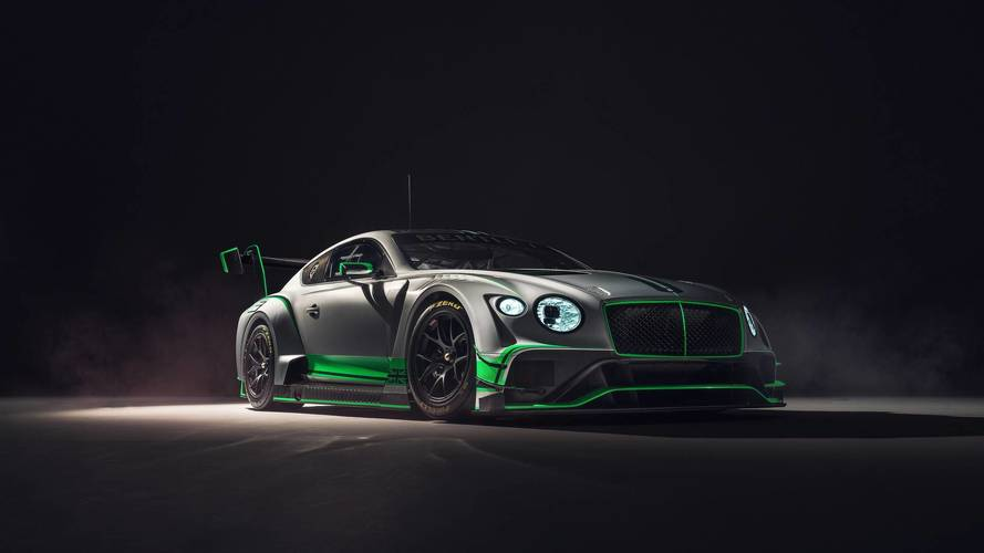 Bentley Continental GT3 Debuts With Biturbo V8 Producing 550+ HP