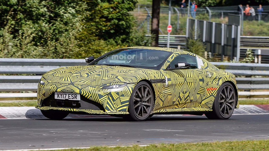 2019 Aston Martin V8 Vantage Spied Circling The Nurburgring
