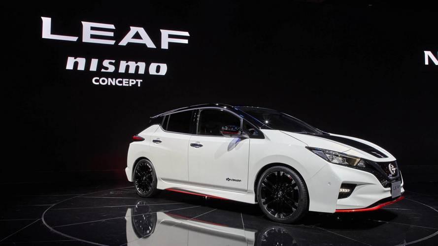 La Nissan Leaf Nismo Concept présentée au Salon de Tokyo