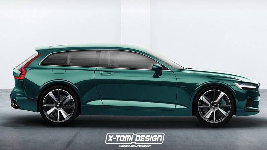 Polestar 1 Shooting Brake, ¿el render imposible?