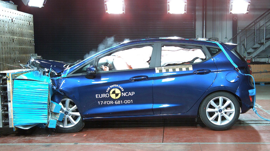 Ford Fiesta gets five-star Euro NCAP rating