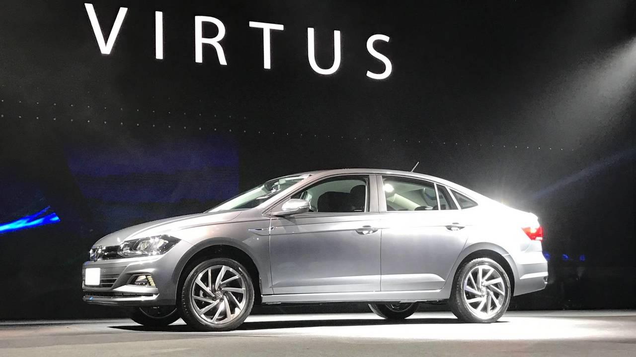 Volkswagen Virtus resmi fotoğraflar
