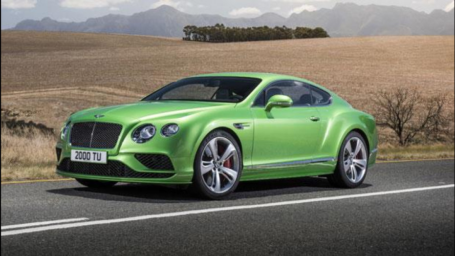 Bentley Continental GT, restyling sottopelle