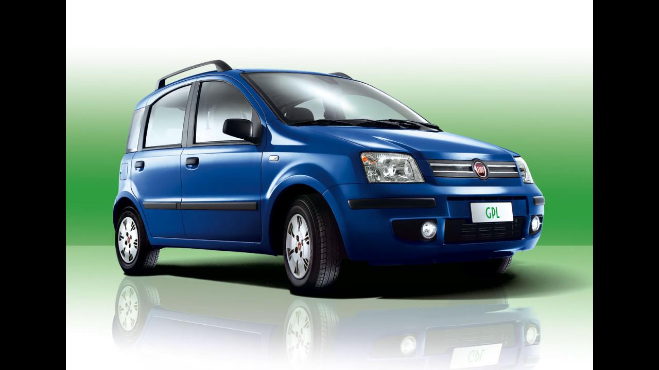 Fiat Panda, Grande Punto e Bravo a GPL