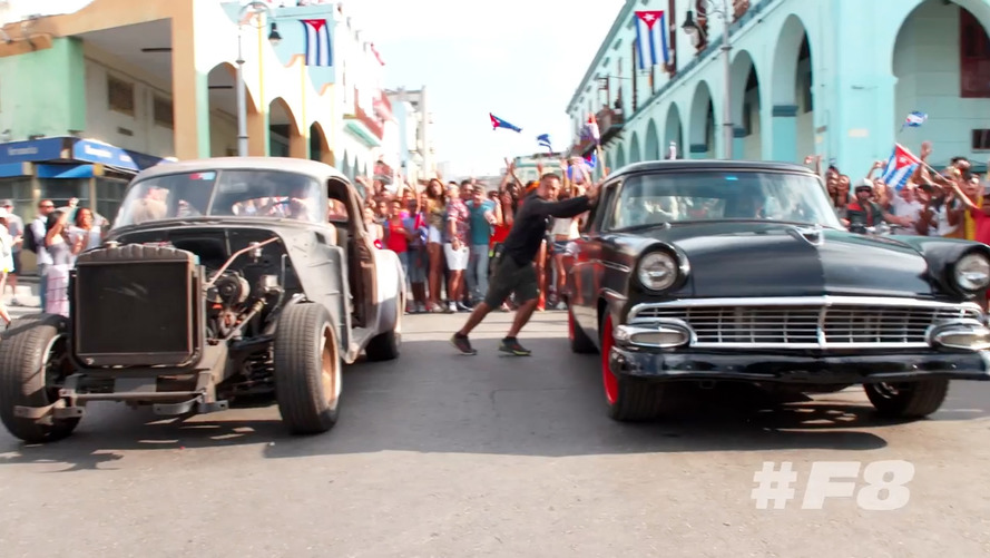 Fast and Furious 8 revels in Cuba's vibrant car culture