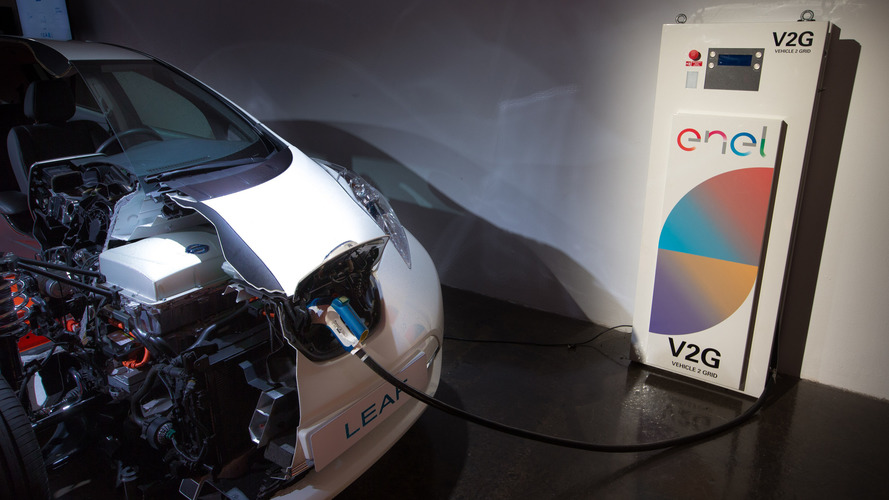 UK trial turns Nissan Leaf's electricity into cash for owners