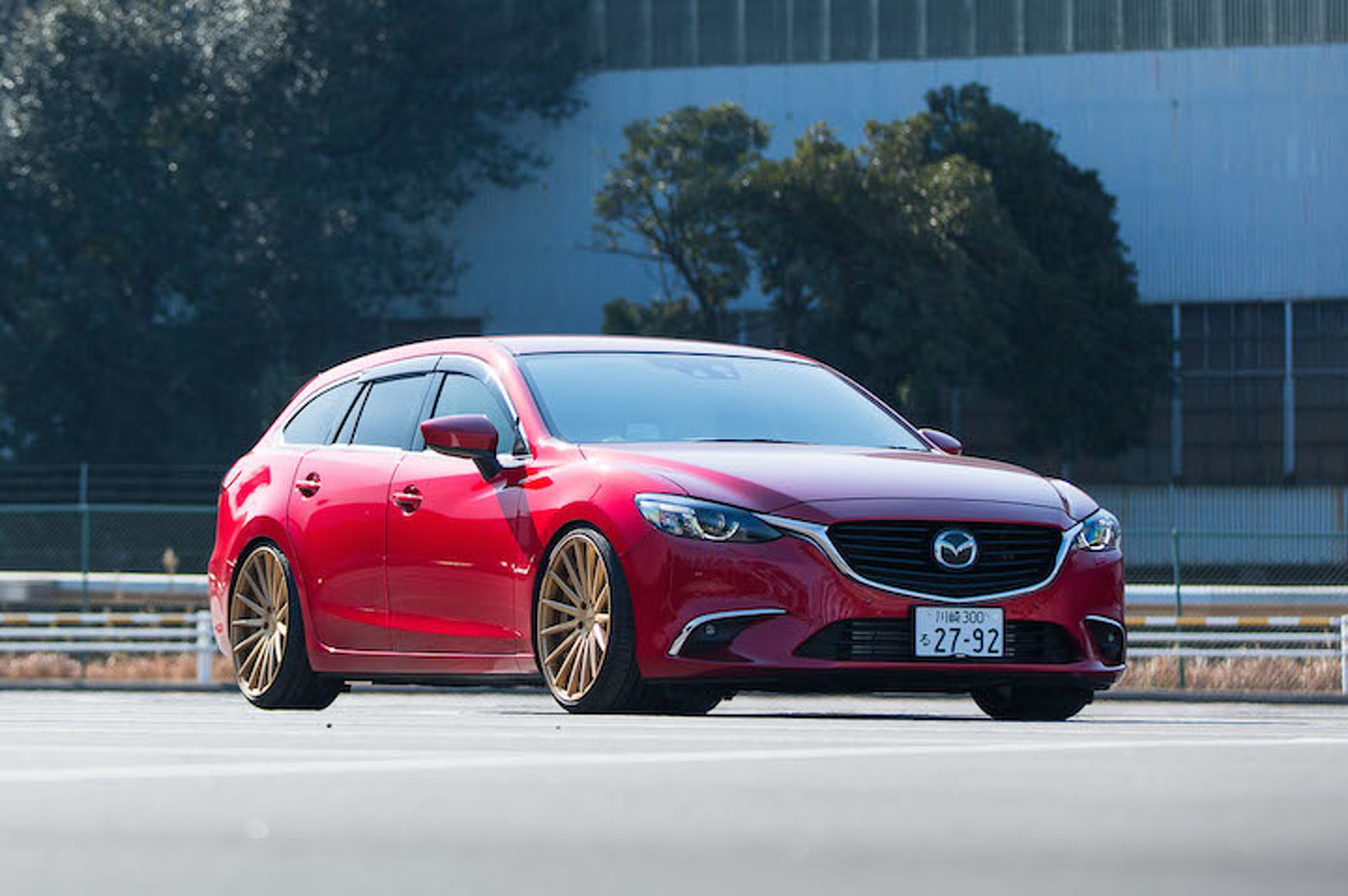 mazda 6 redefines the term 39 swag wagon 39 riding on vossen wheels. Black Bedroom Furniture Sets. Home Design Ideas