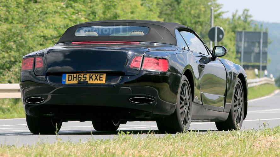 2018 Bentley Continental GT Convertible Spied