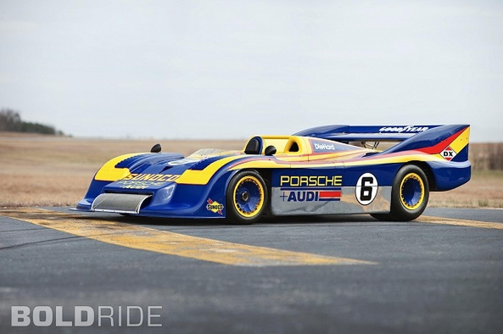 Wheels Wallpaper - Porsche 917/30 Can Am Spyder