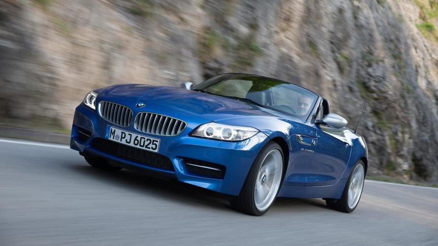 BMW Z4 facelifted with... new exterior colour