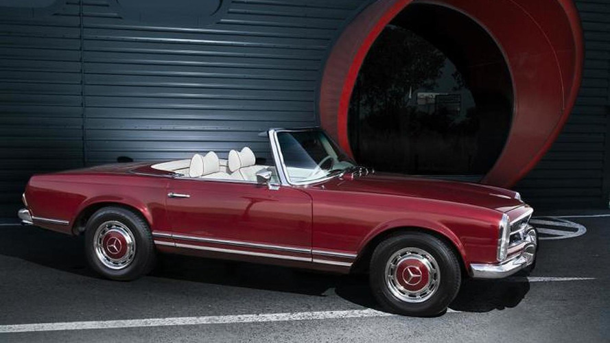 1971 Mercedes-Benz 280SL beautifully restored by Overdrive