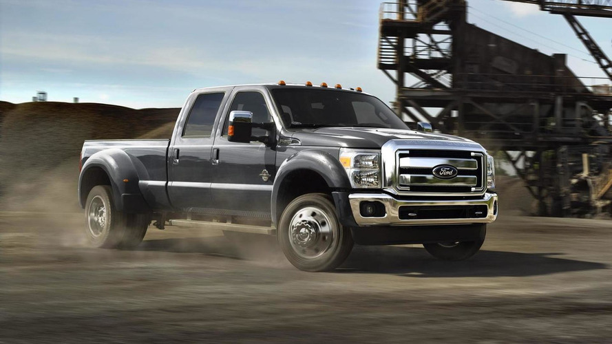 2015 Ford F-Series lineup gets upgraded V8 6.7-liter Power Stroke turbodiesel engine