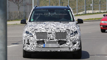 2015 Mercedes-Benz M-Class facelift spy photo