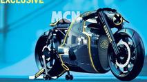 Lotus C-01 motorcycle previewed in leaked official renders