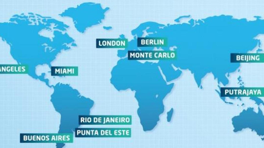 2014/2015 Formula E calendar announced, will have ten rounds