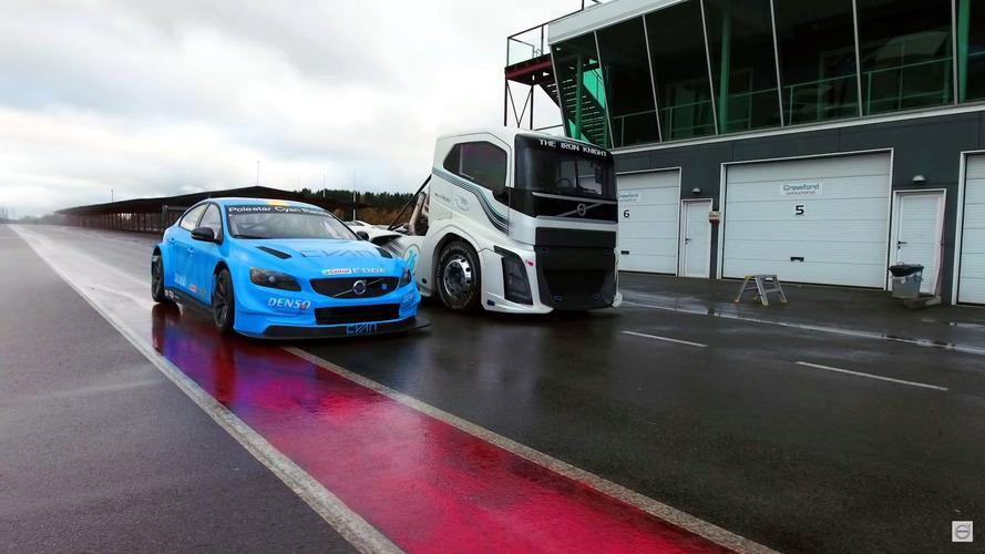 Volvo The Iron Knight compite contra el S60 Polestar