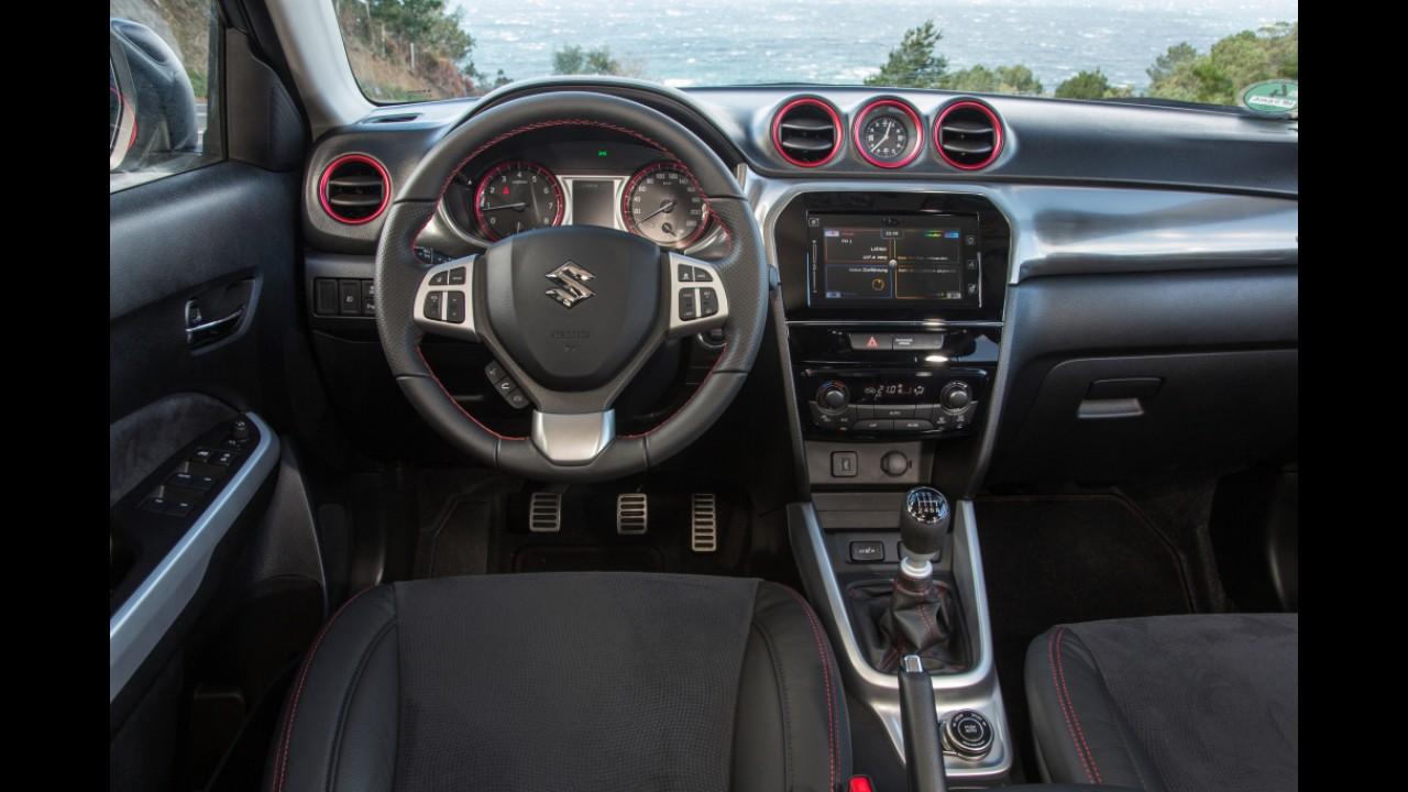 Suzuki Vitara chega ao Brasil em novembro com motores 1.6 aspirado e 1.4 turbo Boosterjet
