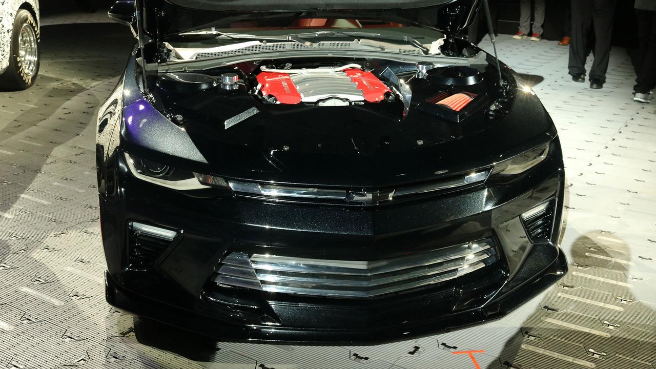 2017 Chevrolet Camaro SS Slammer concept