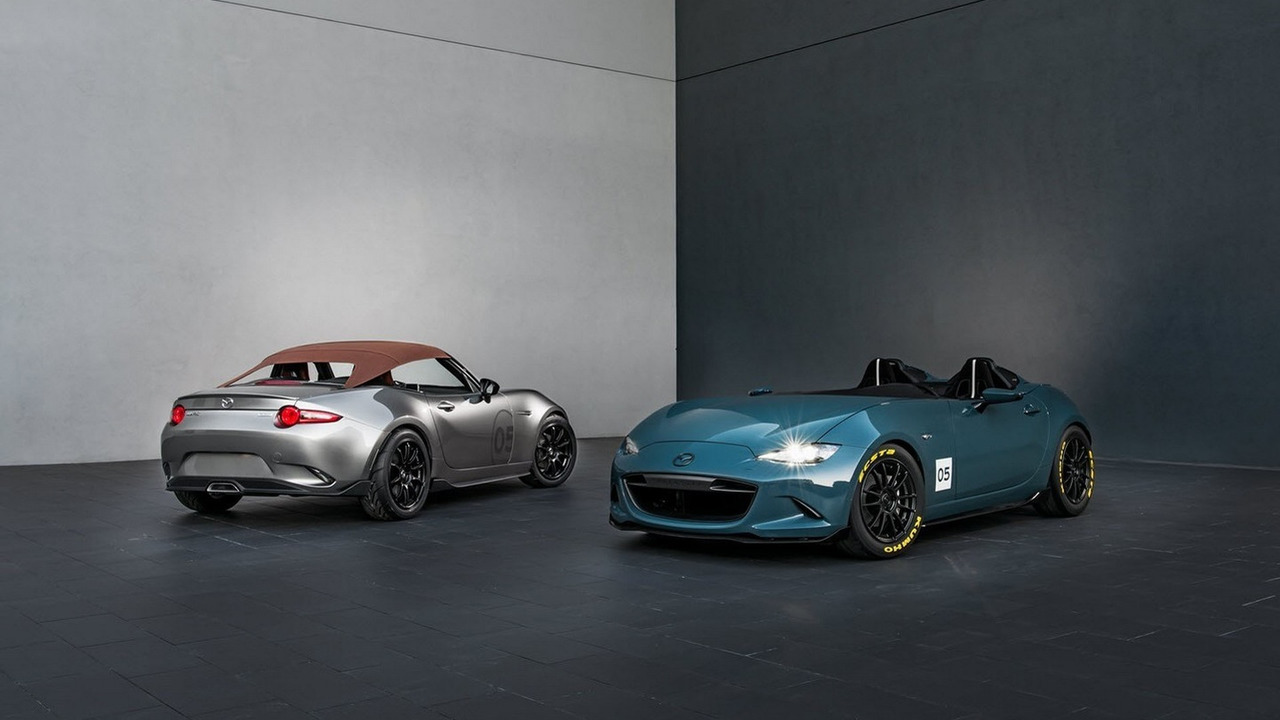 Mazda MX-5 Spyder and MX-5 Speedster concepts