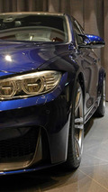 Heavily-specced BMW M3 Tanzanite Blue features carbon fiber rear wing
