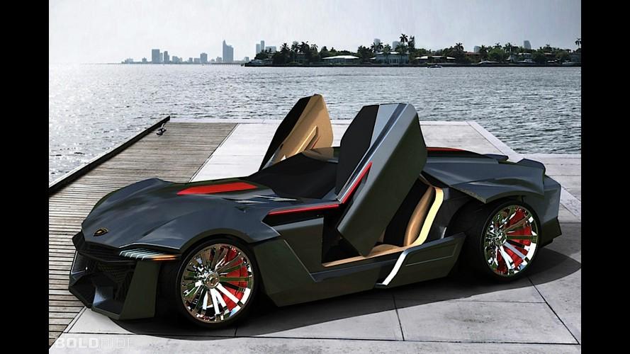 Lamborghini Avispado Concept by Kaiwan Hasani