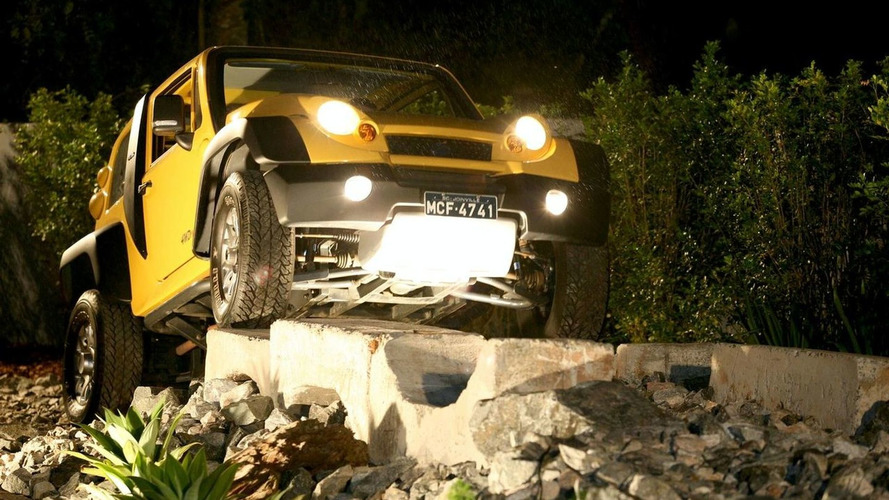 TAC Stark, a Brazilian Off-Roader That Runs on Ethanol
