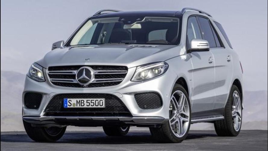 Nuova Mercedes GLE, cioè il restyling dell'ML