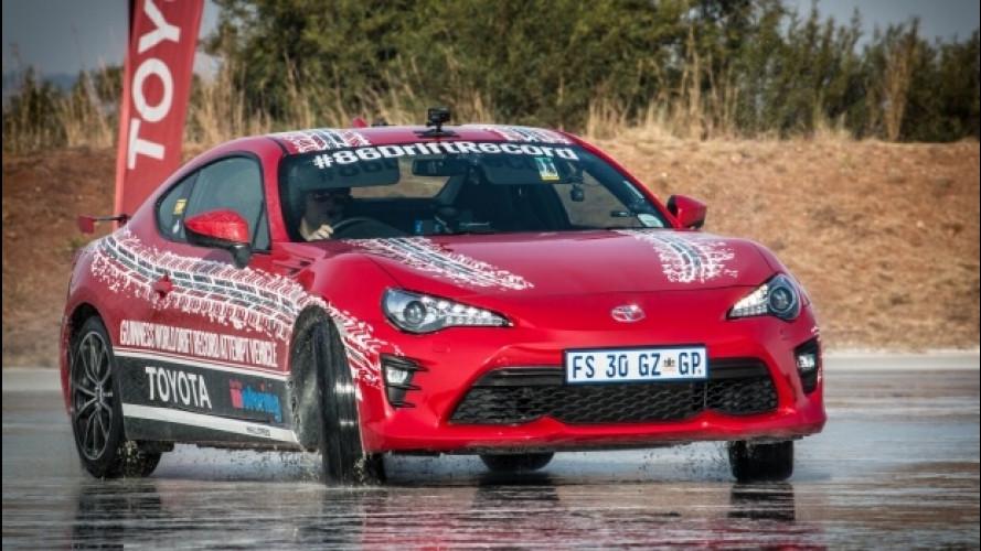 Toyota GT86, è suo il record mondiale di drifting [VIDEO]