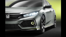Nuova Honda Civic berlina prototipo