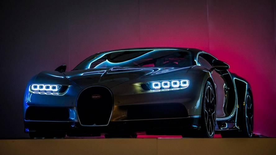 Bugatti Chiron debuts in Hong Kong