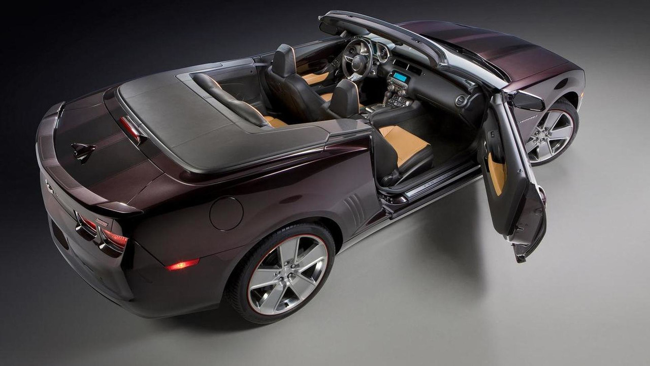 Chevrolet Camaro Convertible for Neiman Marcus Christmas Book