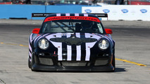 911 GT3 Cup, Alex Job Racing: Juan Gonzales, Butch Leitzinger, Leh Keen, American Le Mans Series, round 1 in Sebring, USA, qualifying, 19.03.2010