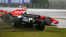 Alexander Wurz, Felipe Massa, Japanese Grand Prix 30.09.2007