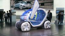 Renault Twizy Z.E. Concept live in Frankfurt