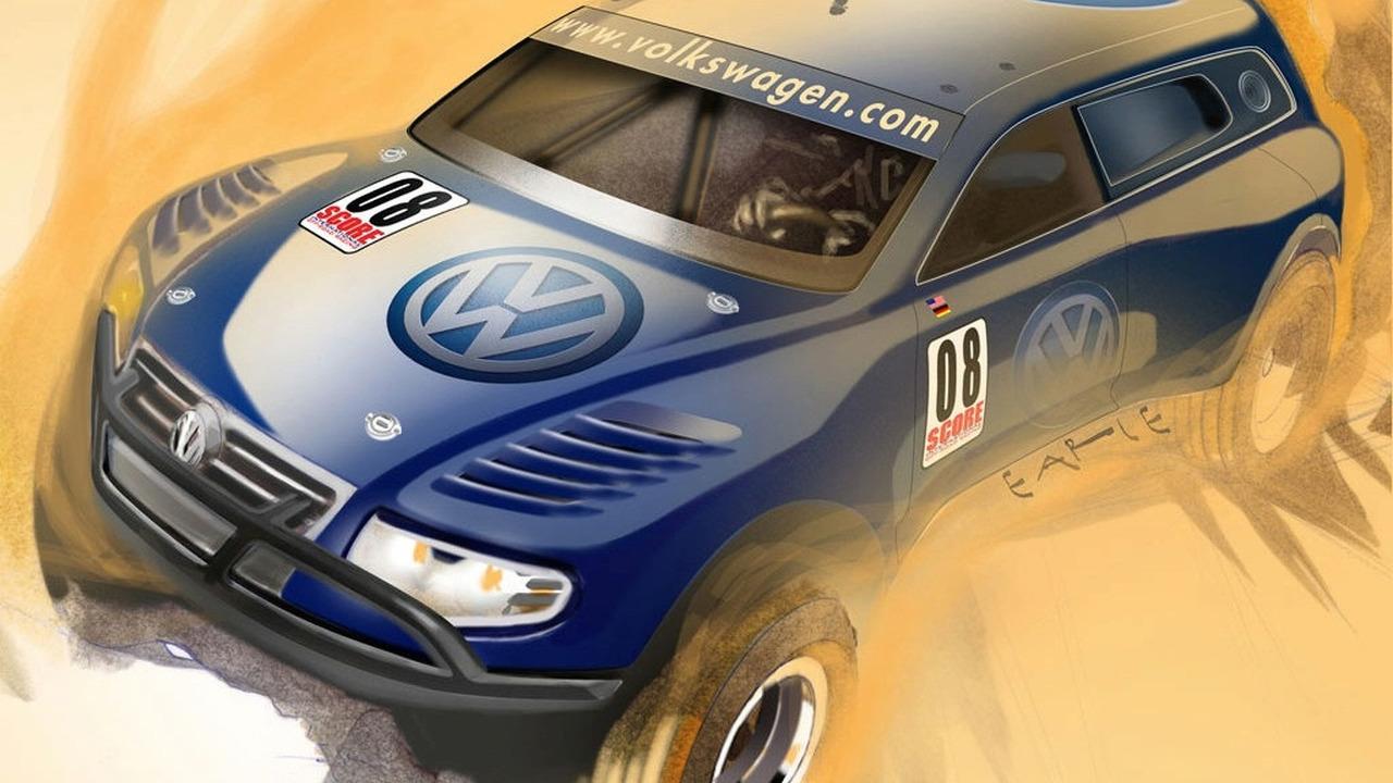 VW Tiguan Performance Concept SEMA 2008