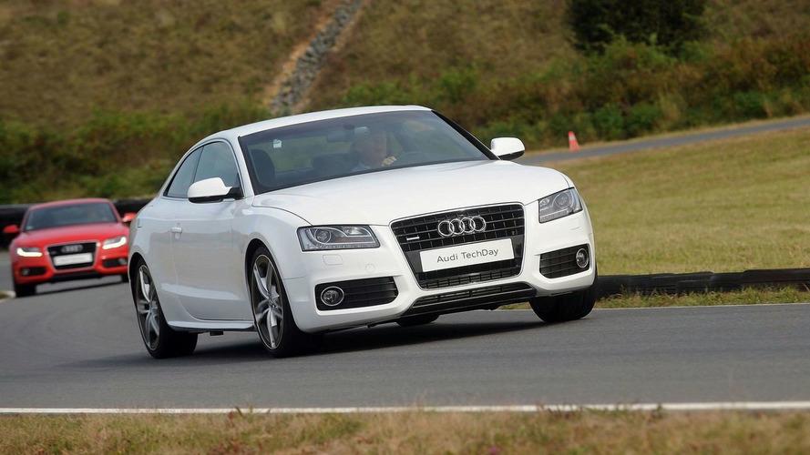 Audi A5 Prototype with Aluminum and Carbon Fiber Construction - Sheds 100kg