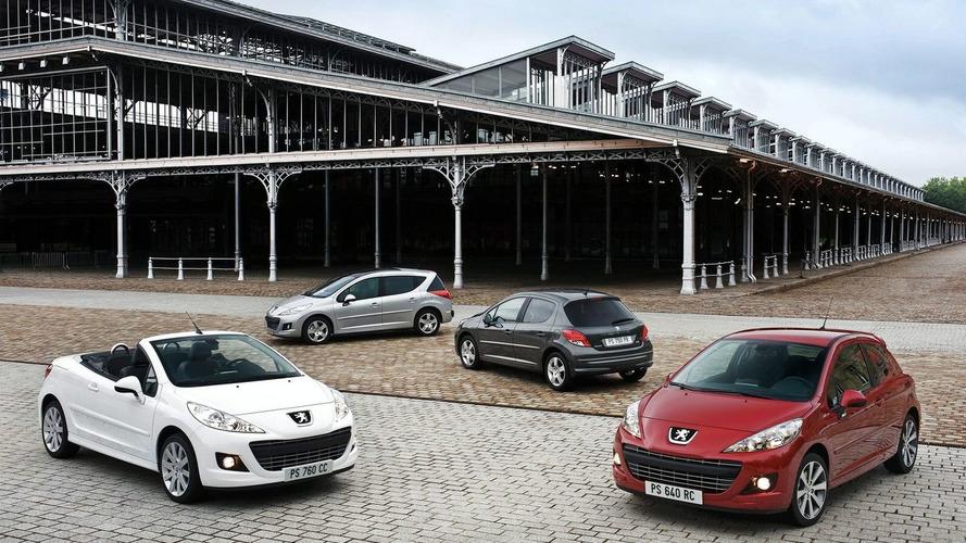 Peugeot 207 range receives a mild facelift
