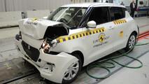 Suzuki Swift çarpışma testi